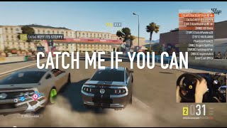 Forza Horizon 2 Catch me If You Can - Online Drifting Montage w/Wheel Cam