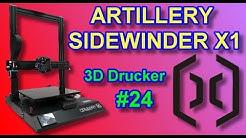 ARTILLERY SIDEWINDER X1 - DER AUßERGEWÖHNLICHE DRUCKER!