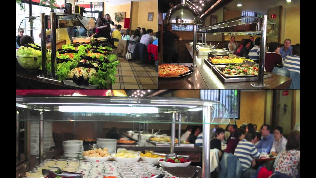 Buffet Libres En Madrid Buffet Restaurante Topolino Youtube