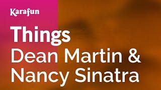 Karaoke Things - Dean Martin *