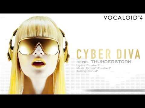 【CYBER DIVA】Official Demo THUNDERSTORM / CircusP + CrusherP