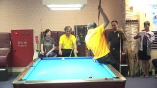 Efren Reyes / Francisco Bustamante Vs Chao Fong-Pang / Zhou Jieyu, Exhibition Scotch-Doubles Match