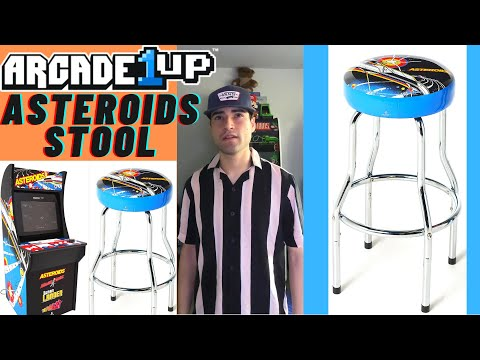 ARCADE1UP ASTEROIDS STOOL QVC EXCLUSIVE from Brick Rod