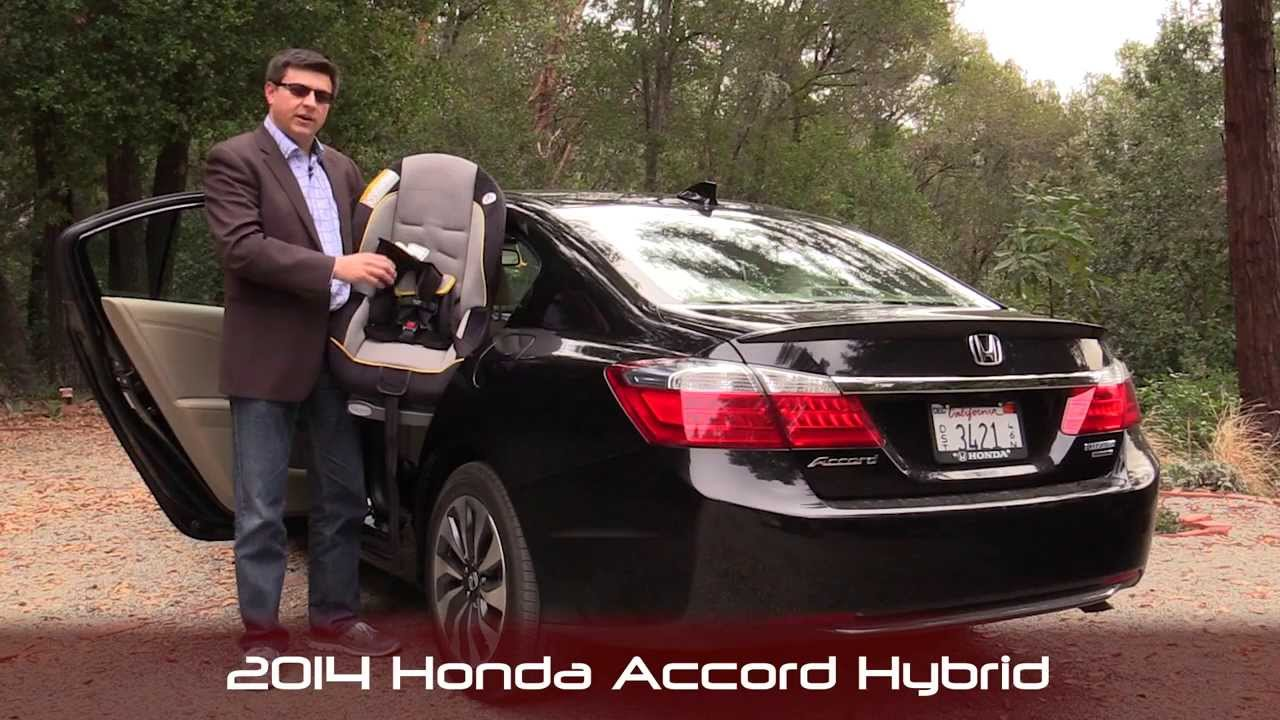 Elegant 2014 Honda Accord Hybrid Child Seat Review