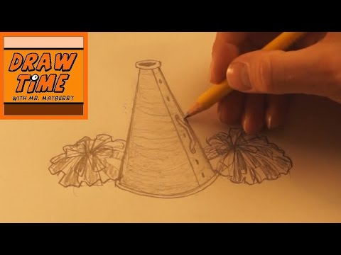 How to Draw a Megaphone