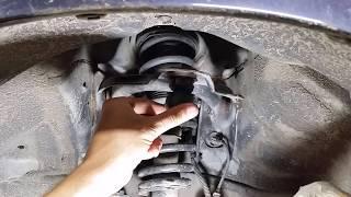 Honda Accord cl 7- cl 9.Замена передней шаровой опоры верхнего рычага.