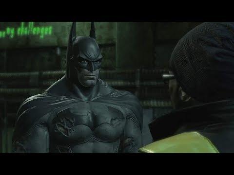 Batman: Return to Arkham - Arkham City Enigma Conundrum Side Mission 2nd Hostage