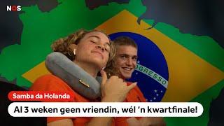 Oranje O17 mist de vriendinnen, maar staat wel in de kwartfinale!   NOS Sport meets Oranje O17