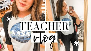 DAY IN THE LIFE OF A TEACHER!! I LOVE MY JOB! | LESSON UPDATES + VLOG