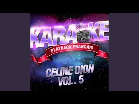 Rien N'est Vraiment Fini — Karaoké Playback Avec Choeurs — Rendu Célèbre Par Céline Dion