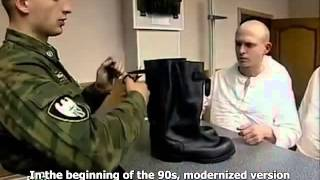 Voennoe Delo - History Of Combat Boots In Russian Army (Eng Subs)