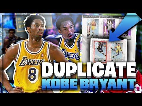 UNRELEASED DIAMOND KOBE BRYANT GOES OFF! I RAN 2 DIAMOND KOBES IN THE SAME LINEUP! NBA 2K18 MYTEAM
