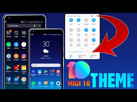 MIUI 10 THEME | For All Samsung Devices | Download & Install (Hindi Urdu)