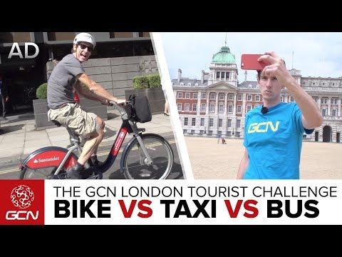 The GCN London Tourist Challenge - Bike Vs Taxi Vs Bus