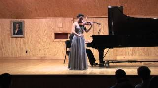 A. Glazunov, Violin Concerto in A Minor, Op. 82, performed at the Meadowmount School of Music, August 11, 2015 by Francesca Bass, violin, Tomoko ...