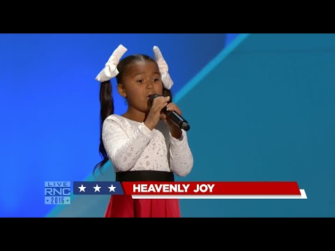 Amazing! Heavenly Joy sings at 2016 Republican National Convention