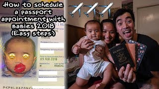 DFA PASSPORT APPOINTMENT 2018 (WITH A BABY) TIPS
