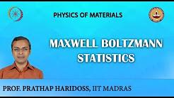 Maxwell Boltzmann Statistics