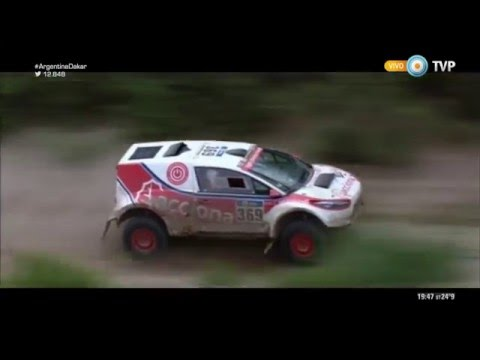 Rally Dakar 2016 - Etapa 4 -  Acciona 100% Ecopowered