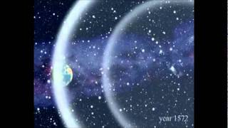 슈퍼노바  빛의 파동 Light Echoes from 1572 Supernova.flv