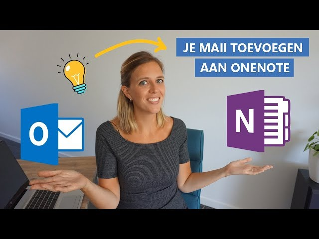 Hoe zet je een Outlook e-mail in OneNote?