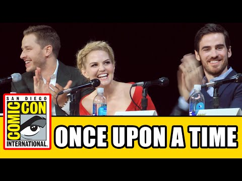 Once Upon A Time Comic Con 2014 Panel
