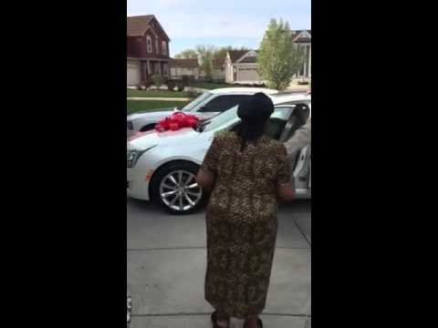 Milwaukee family surprises parents with new car for their birthdays and Mother's Day.