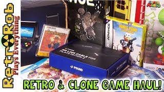 Modern and Retro Game Haul. Some Cool Stuff. GBA, Clones, Famicom Disk, Vita and more!