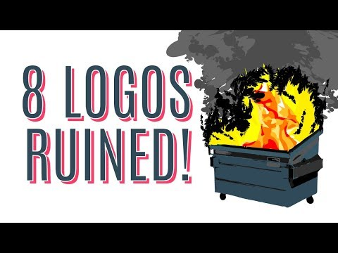 8 LOGOS THAT WERE RUINED!