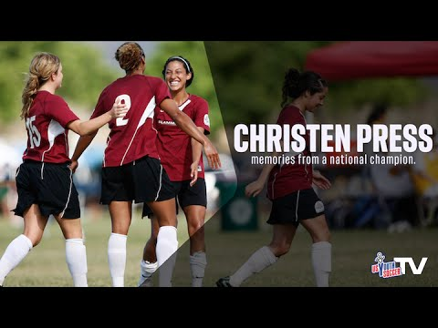 USWNT Forward Christen Press  - Memories from a National Champion