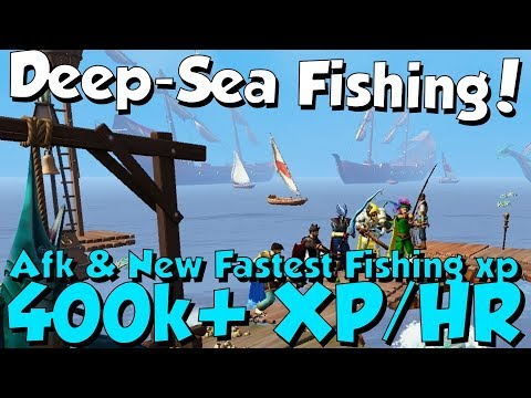 New Update! Deep-Sea Fishing! [Runescape 3] New AFK Methods, Fish & Fastest XP In-game