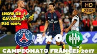 PSG 3 x 0 Saint Étienne   Gols & Melhores Momentos HD COMPLETO   Campeonato Francês 2017