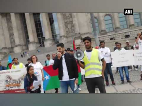Baloch activists in Berlin held protest against Pakistan - ANI News
