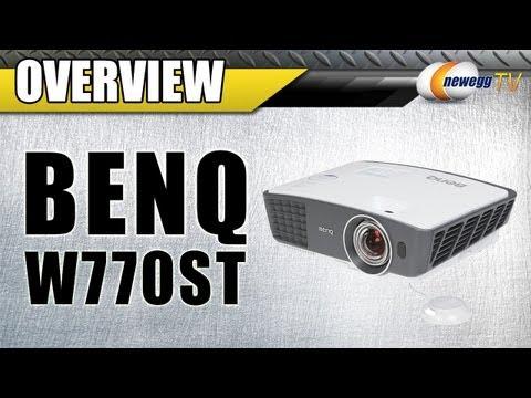 BenQ W770ST DLP Home Theater Projector - 3D(Blu-Ray) Overview - Newegg TV