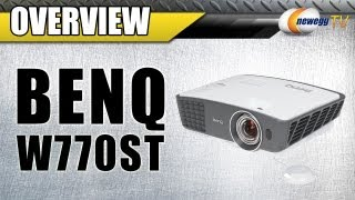 BenQ W770ST DLP Home Theater Projector - 3D(Blu-Ray) Overview - Newegg TV