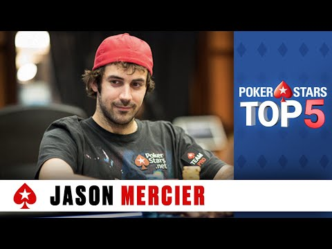Jason Mercier - Top Moments ♠️ Poker Top 5 ♠️  PokerStars Global
