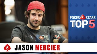 Top 5 Poker Moments - Jason Mercier | PokerStars.com
