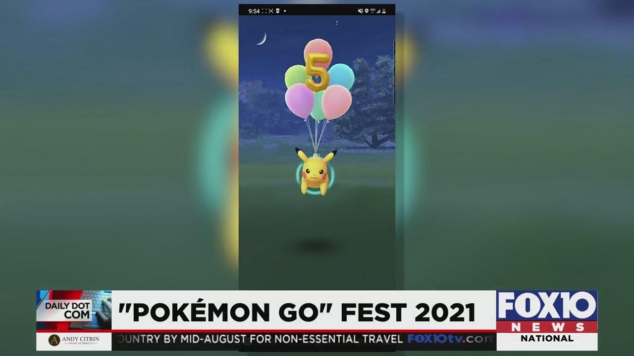 Daily Dot Com: Pokemon Go Fest 2021 - FOX10 News