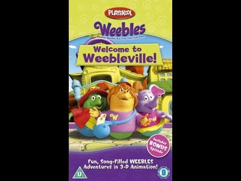 Original VHS Opening: Weebles: Welcome To Weebleville! (UK Retail Tape)