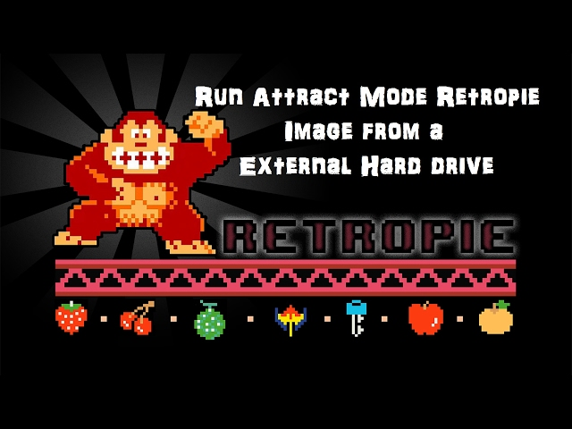 Adding A Hard Drive to Your Raspberry Pi AttractMode/RetroPie