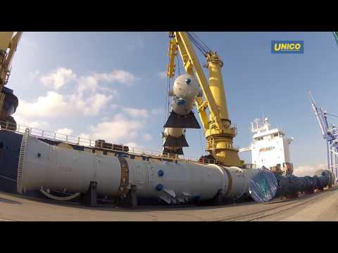 Unico, Project Cargo Shipment Services - Russian Rivers Transportation - Seaport Logistics