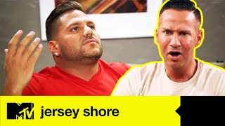 The Last Supper Turns Sour After Ronnie & Mike's Explosive Argument | Jersey Shore Family Vacation