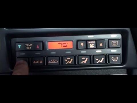 Climate Control Repair- C4 Corvette - YouTube