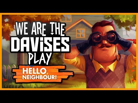 I Found A Secret Ladder | Hello Neighbor EP-3 | Gaming With Tyler Davis
