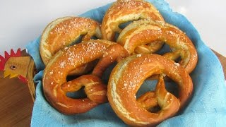 Homemade Soft Pretzels - Ninik Becker Recipe #40