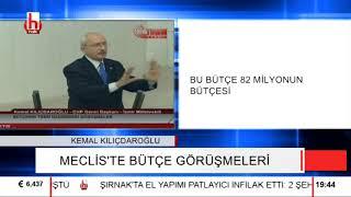Kılıçdaroğlu bütçe görüşmelerinde konuştu AKP'liler hazmedemedi!