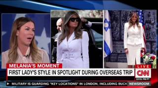 CNN Does A 6 Minute Segment On Melania Trump's Outfits And Not Holding President Trump's Hand