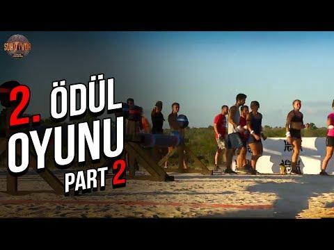 2. Ödül Oyunu 2. Part   28. Bölüm   Survivor Türkiye - Yunanistan