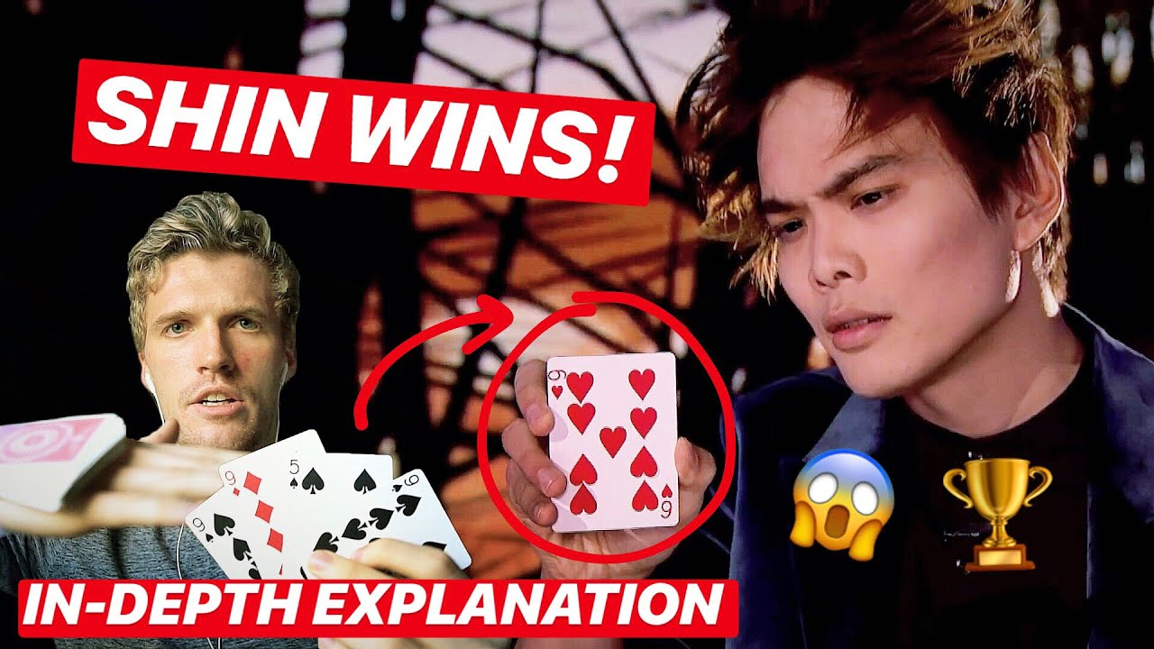 SHIN LIM'S *WINNING* America's Got Talent FINALS MAGIC ACT - REVEALED & EXPLAINED!! - YouTube