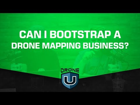 Can I Bootstrap a Drone Mapping Business?